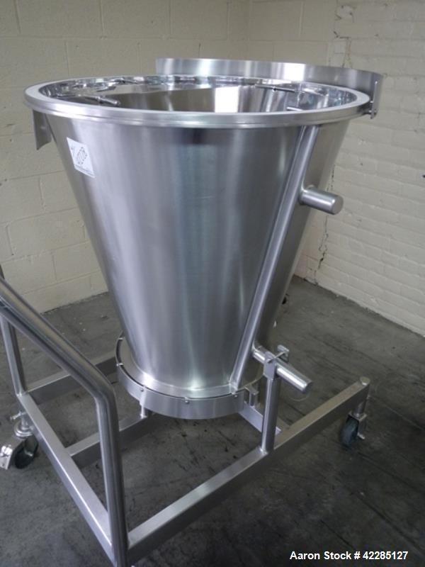 Used- Stainless Steel Glatt Wurster Insert