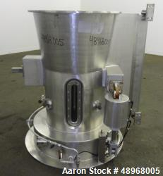 Used- Wurster Column, 316 Stainless Steel.