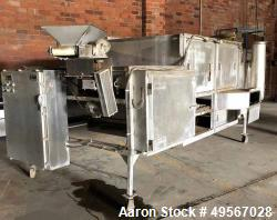 Used-Aeroglide Cooler, Stainless steel, 5' wide belt.