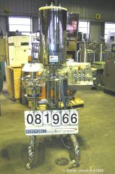 Used- Stainless Steel/Glass Huttlin Kugelcoater, Model HKC-5