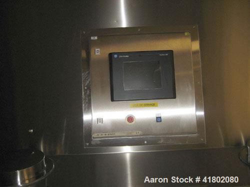 Used- Niro Fluid Bed Dryer/Granulator, Model MP7-F1, Stainless Steel. Rated 10 bar maximum pressure, 1,610 liters. Includes ...