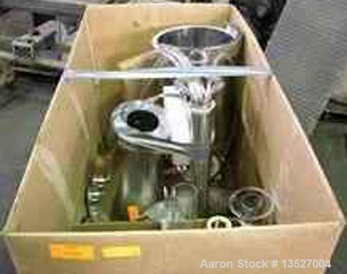 Unused-Used: Niro Aeromatic MP-1 Fluid Bed Processor 316 stainless steel product contact surfaces mirror finish 20.7 liter p...