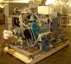 Used- GEA Aeromatic Microwave Vacuum Dryer/Granulator, Model GP150SP, Stainless Steel. 150 Liter bowl, jacketed bowl, 15 kw ...