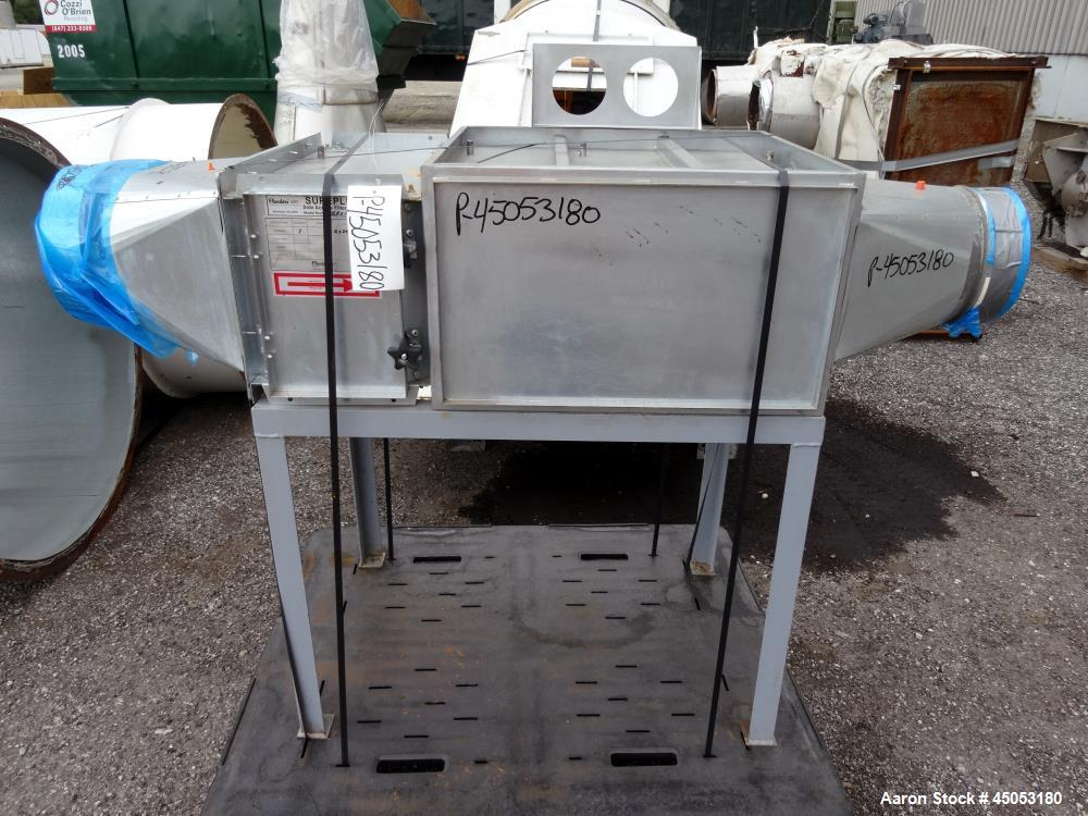 Used- Stainless Steel Vector Spray Fluid Bed Dryer, Model FLF-90