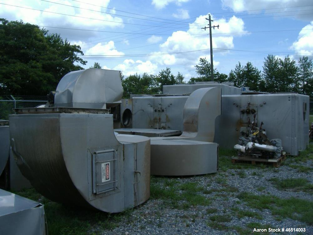 Used- Wolverine Corporation Jetzone, Fluid Bed, Dryer.