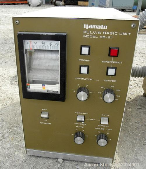 Used- Yamato Scientific Pulvis Basic Unit Fluid Bed Dryer, Model Pulvis GB-21