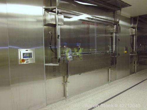 Used- BOC Edwards 440 Square Feet Freeze Dryer Lyophilizer, Model LYOMAX 42, 316L Stainless Steel Contact Surfaces. (15) 180...