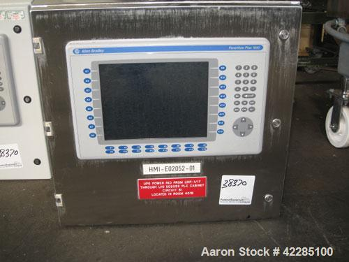 Used- Edwards Lyophilizer, model Lyomax 1.0, 24sq.ft. total surface area, with stoppering, associated compressors,vacuum pum...