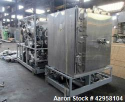Used- Hull Lyophilizer Freeze Dryer, Model 378017, 18 Square Feet