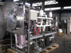 Used- Edwards Lyophilizer, model Lyomax 1.0, 24 sq. ft. total surface area, with associated compressors, vacuum pump, contro...