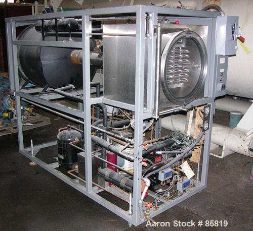 "USED: Vertis freeze dryer, 24 sq ft, model 253831, 304 stainless steel construction. With (8) 18"" x 24"" shelves, 50# ice cap..."