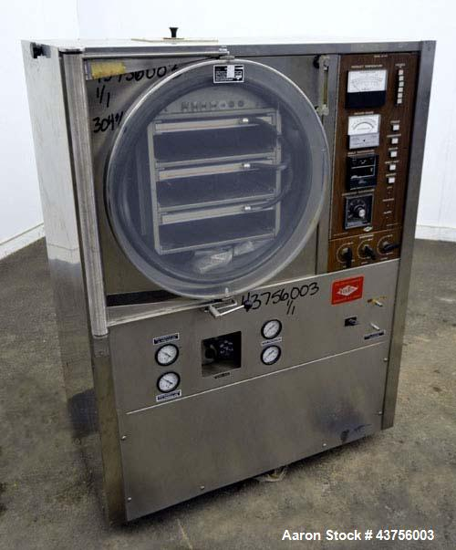 Used- Virtis Lyophilizer/ Freeze Dryer, Model 25-SRC-3SP