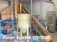 Used- Nara 1.6W Paddle Dryer. At 400 degrees C, it will process approximately 50kg hr. or at 200 degrees C, approximately 15...