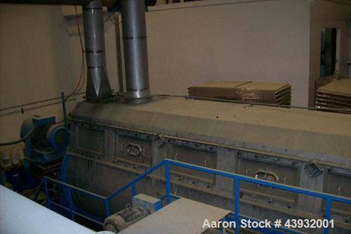 Used-Stord Rotadisc Dryer, Model TST-80pCR.  Working pressure 862 kPa; speed reducer Santasalo 4TC500, ratio i = 140:1; moto...
