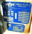 USED: Denver single screw Holo-Flite processor, model S2412-6. 304 stainless steel. (1) 24