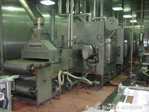 Used- Enviro-Pak oven, model 40-42-18-111. Thermal Zone full impingment oven, (3) independent thermal zones.  Includes: (1) ...