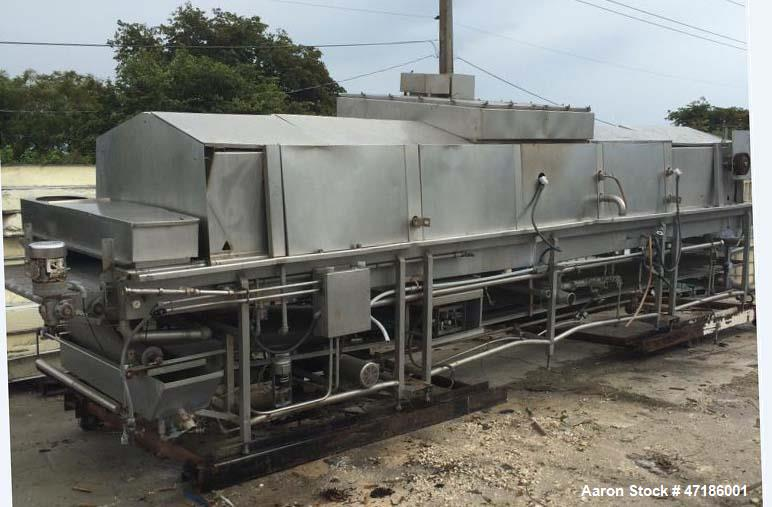 Used- Heat and Control MPO- Multi-Purpose Oven. Stainless steel construction with stainless continuous re-circulating belt. ...