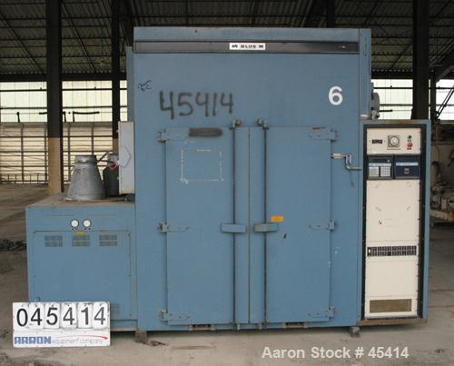 Used- Blue M BIC 80 Series Burn-In Cycling Chamber, Model BIC-80EMPX155, 80 Cubic Feet. 4' long x 5' high x 4' deep. Stainle...