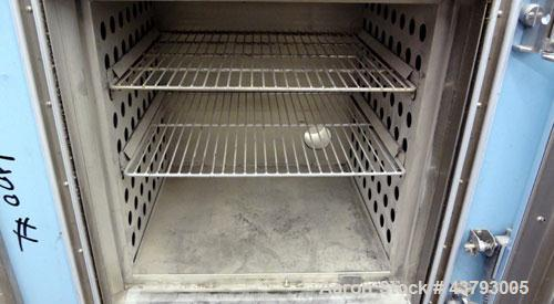"""Used- Blue M Mechanical Convection Oven, Model DC-206C. 304 Stainless steel chamber 20"""" wide x 20"""" high x 18"""" deep, 4.2 cubi..."""