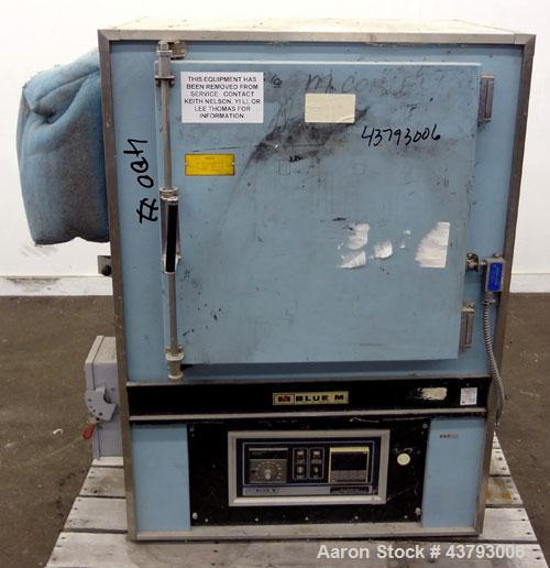"Used- Blue M Mechanical Convection Oven, Model DC-206C. 304 Stainless steel chamber 20"" wide x 20"" high x 18"" deep, 4.2 cubi..."