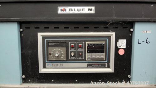 "Used- Blue M Dual Mechanical Convection Oven, Model DC-206C. (2) 304 Stainless steel chambers 20"" wide x 20"" high x 18"" deep..."