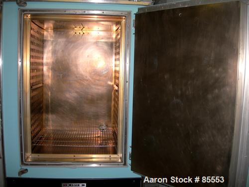 """USED: Blue M oven, model DC-336C, stainless steel chamber, 25"""" wide x 38"""" high x 20"""" deep. Temperature range 343 degrees C/6..."""