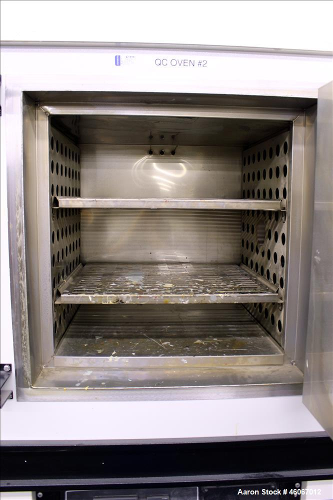 """Used- Thermal Product Solutions Blue M Electric Oven, Model DCW-206-G-ST350. 4.2 Cubic feet 304 stainless steel chamber 20"""" ..."""