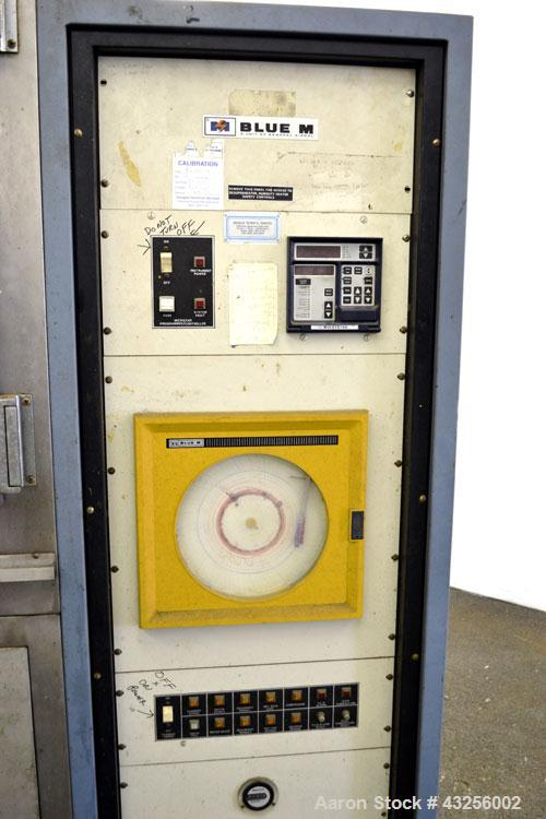 Used- Stainless Steel Blue M Humidity Chamber, Model LRM-386F