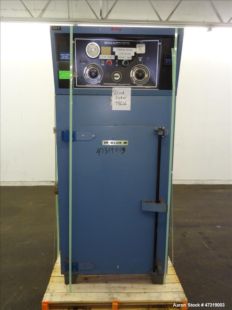 "Used- Blue M Batch Oven, Model POM-106H. Internal 19"" wide x 20"" deep x 39"" tall. Maximum temperature 600 degrees F. 7kW hea..."