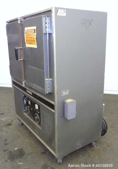 """Used-Blue M Mechanical Oven, Model POM-136F-1. 304 Stainless steel chamber 38"""" wide x 25"""" high x 20"""" deep. Temperature range..."""