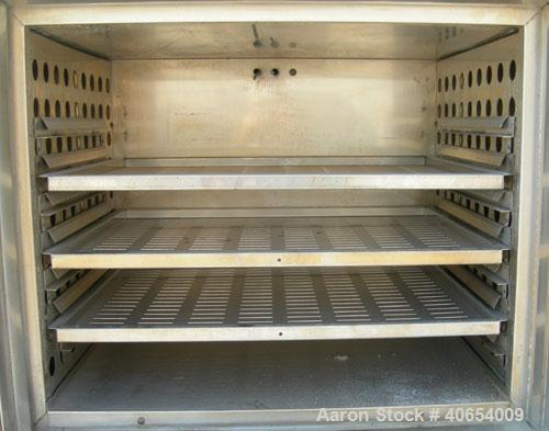 "Used- Blue M Mechanical Convection Oven, model POM7-256C-HP. 304 stainless steel chamber 25"" wide x 20"" high x 20"" deep, 5.8..."