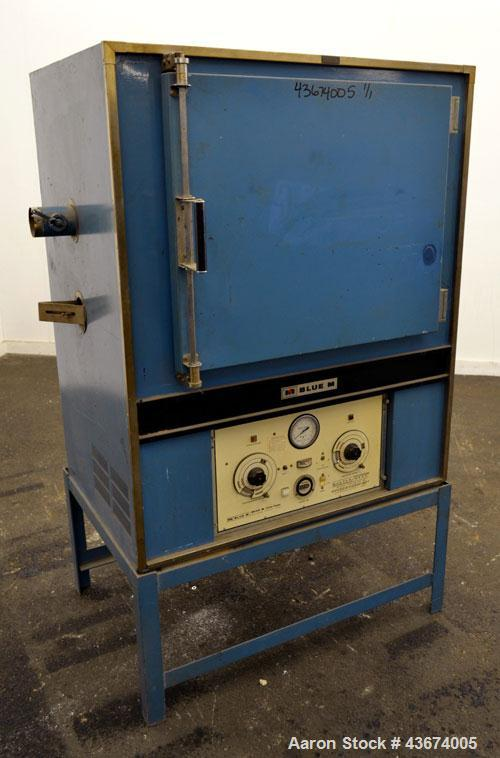Used- Stainless Steel Blue M Mechanical Convection Oven, Model POM7-256C
