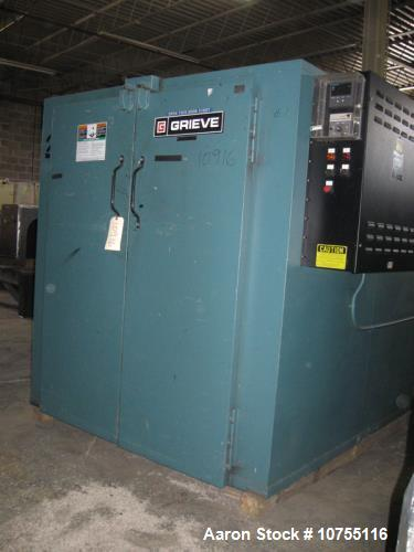 Used- Grieve, Model TBH-500, Floor Level Truck Oven. 80 cubic feet capacity, 12KW heat input, 500 degrees F maximum temperat...