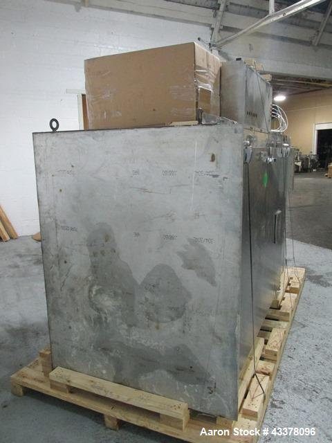 Used- Gruenberg Oven, Model T18HS74.35SS. Stainless steel construction, approximately 74 cubic feet capacity, single door, s...