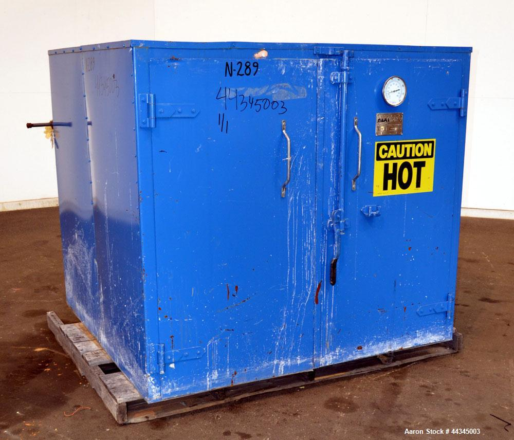 Used- Heat-Pro Low Profile Drum Heating Oven, Model HPSCL4-C3, Carbon Steel. Heating medium saturated steam up to 200 psig, ...