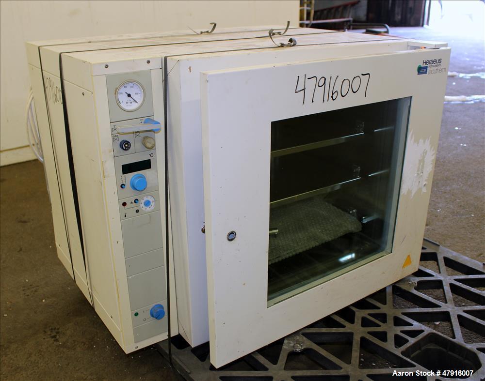 Used- Heraeus Instruments Vacutherm Shelf Heating Oven, Model VT 6130 P, 128 Lit