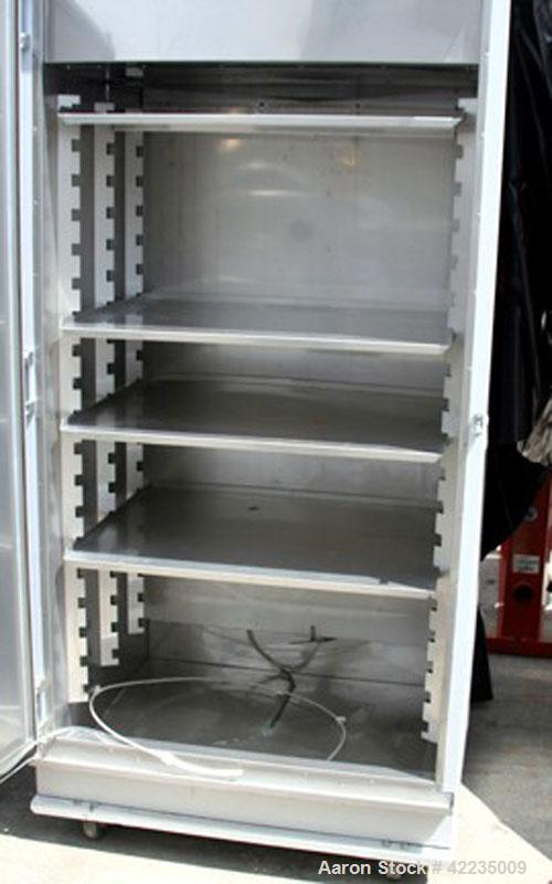 "Used- Hotpack Oven, Model 417532-S-212. Rated 0 to 70 deg C. Serial 82949, 230/60/1, chamber is 64"" tall, 36"" wide x 26"" dee..."