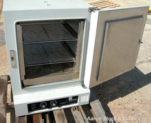 "USED: Lab-Line Equatherm convection oven, model 299-749. 304 stainless steel chamber 18"" wide x 19"" high x 17"" deep, 3.5 cub..."