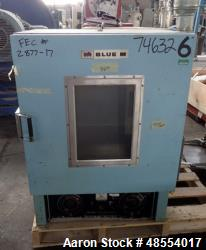 Used- Blue M Convection Oven, Model OV-490A-2, 3 Cubic Feet Capacity,