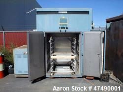 Used- Blue M BIC-80 EMPX-155 Temperature Chamber. Hot, cold or burn-in cycling. 80 cubic foot, 4' wide x 5' high x 4' deep. ...