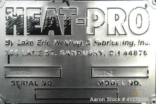 Used- Heat-Pro Electric Drum Heating Cabinet, model HPEC-4, carbon steel. 4 drum capacity, temperature range to 350 deg F. I...