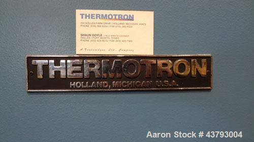 "Used- Thermotron  Circulating Temperature Oven, Model SM-8C. 304 Stainless steel interior approximate 24"" wide x 24"" deep x ..."