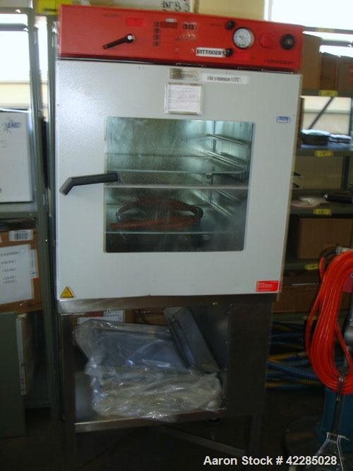 """Used- Binder Vacuum Drying Oven, Model VDC 115. Chamber interior volume 4.1 cubic feet, approximately 17.7"""" deep x 19.9"""" wid..."""