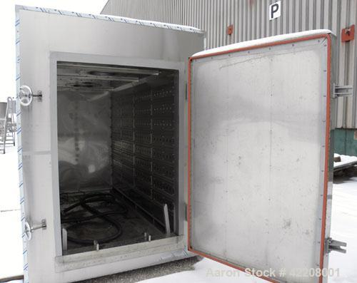 "Used- Jeil Machine Company Drying Oven, 304 stainless steel. Internal 48"" wide x 72"" tall x 110"" deep, approximate maximum t..."