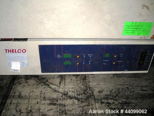 """Used- Precision Thelco Lab Oven, Cat.# 51221161. Range 30 to 250 degrees C, 18""""W x 16"""" D x 32"""" H chamber, 7 shelves, with co..."""