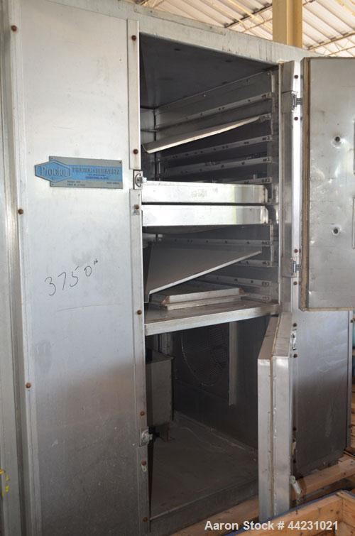 Used-  Stainless Steel Proctor & Schwartz Gas Heated Lab Tray Dryer, Model 062