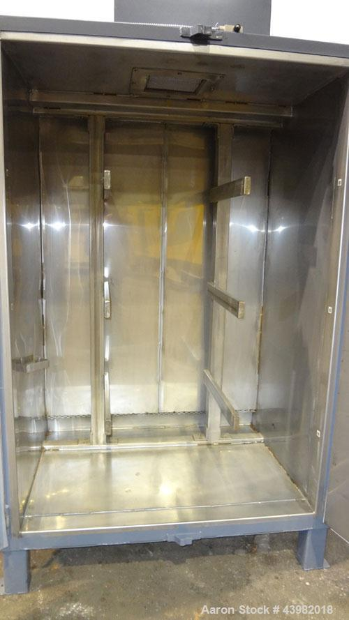 Used- Stainless Steel Benko Products Drum Hot Box, Model C3E4-1S