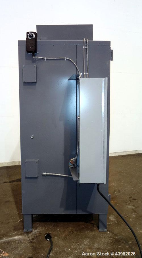 Used- Sahara Electric Oven, 2 Door Design, Model #C3E4-1S. Stainless steel interior. Chamber dimensions with the doors close...