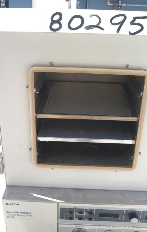 "Used- Scientific Products/Gold Series Vacuum Drying Oven, Model DP-32. Chamber 11-1/2"" deep x 11-1/2"" wide x 11-1/2"" tall, 2..."