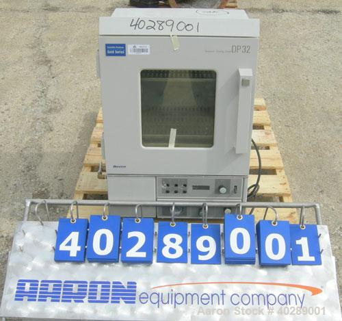 """Used- Scientific Products vacuum drying oven, 1 cubic foot capacity, model DP-32, 304 stainless steel. Chamber 12"""" wide x 12..."""